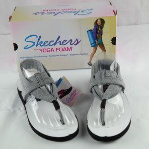 Skechers Yoga Foam Sandals Sz 6